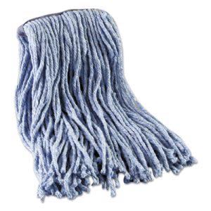 Boardwalk Blue Standard CutEnd Cotton/Synthetic 12-12oz Wet Mop heads (BWK2016B)