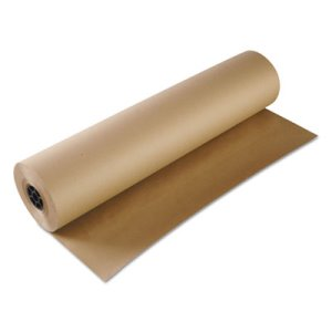 36in Wide Kraft Paper Rolls, 600 ft. (BWK KFT3660600)