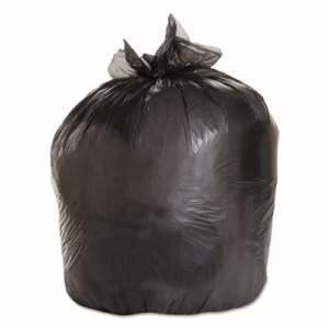 Boardwalk 33 Gallon Black Garbage Bags 33x39, 0.50mil, 200 Bags (BWK 3339H)