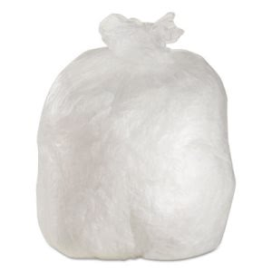 45 Gallon Clear Trash Bags, 40x48, 14mic, 250 Bags (ESXLAG404814)