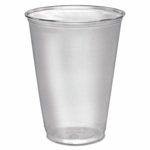 Solo Cup Company Ultra Clear Cups, Tall, 10 oz, PET, 50/Pack (DCCTP10DPK)