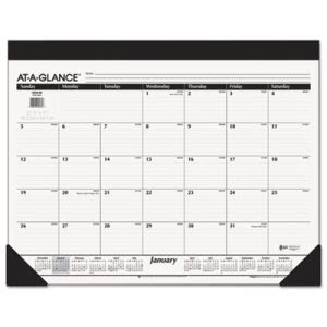 "At-a-glance Recycled Refillable Desk Pad, 22"" x 17"", 2016 (AAGSK2200)"