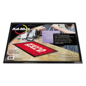 Artistic AdMat Counter Mat, 11 x 17, Black Base (AOP25201)
