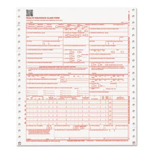 Paris Business 2 Part Continuoys CMS Forms, White/Canary, 1000 Forms (PRB07116)