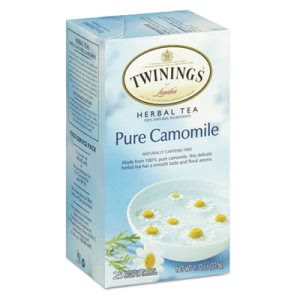 Twinings Tea Bags, Pure Camomile, 1.76 oz, 25/Box (TWG09178)