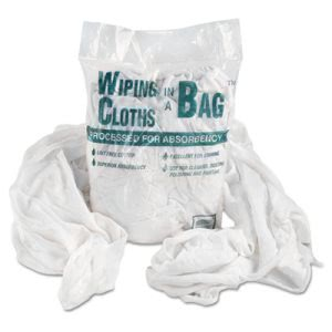 Multipurpose Reusable Cotton Wiping Cloths, 1lb Pack (UFSN250CW01)