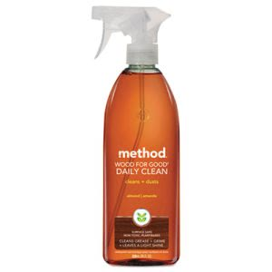 Method Daily Wood Cleaner, Almond Scent, 28 oz Spray Bottle (MTH01182)