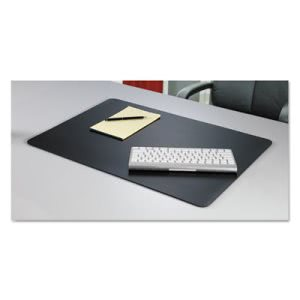 Artistic Rhinolin II Desk Pad with Microban,17x 12, Black (AOPLT912MS)
