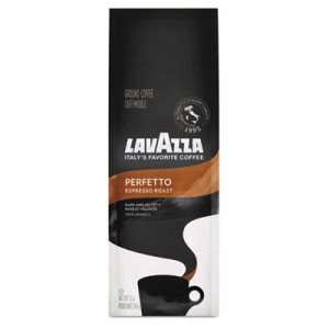 Lavazza Perfetto Ground Coffee, Espresso Roast, 12 oz Bag (LAV7511)