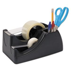 "Officemate Recycled Heavy Duty Tape Dispenser, 1"" and 3"" Cores (OIC96690)"