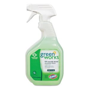 Green Works 00456 Natural All-Purpose Cleaner, 12 Spray Bottles (CLO00456CT)