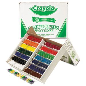 Crayola Colored Woodcase Pencil Classpack, 14 Color Sets/Box (CYO688462)