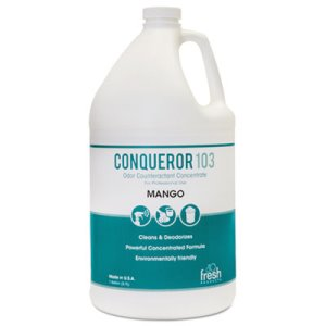 Conqueror 103 Odor Counteractant Concentrate, Mango, 4 Gallons (FRS1WBMG)