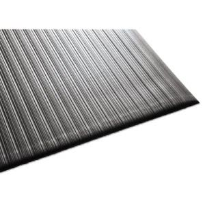 "Guardian Air Step Antifatigue Mat, Polypropylene, 36""x60"", Black (MLL24030502)"