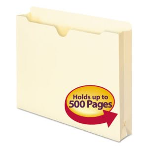 "Smead File Jackets w/ 2"" Expansion, Letter, 11 Point, 50 per Box (SMD75470)"