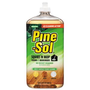 Pine-Sol Multi-Surface Floor Cleaner, 32-oz Bottle, 6 Bottles (CLO97348CT)
