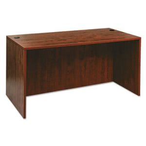 Alera Valencia Series Straight Front Desk Shell, Med Cherry (ALEVA216030MC)