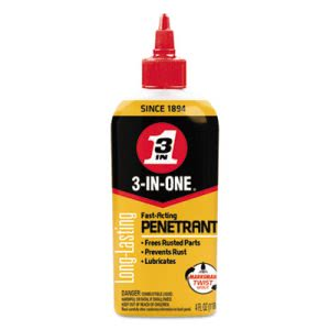 WD-40 3-IN-ONE Professional High-Performance Penetrant, 4-oz. Bottle (WDF120015)