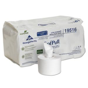 Georgia Pacific Professional SofPull Mini Centerpull Bath Tissue GPC19516