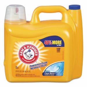Arm & Hammer Dual HE Liquid Laundry Detergent, 2 Bottles (CDC 33200-09793)
