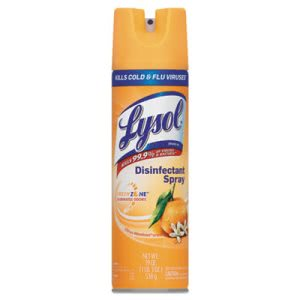 Lysol Brand Disinfectant Spray, Citrus Meadow Scent, 19 oz Aerosol (RAC81546)