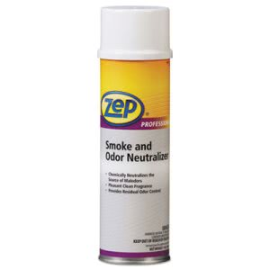 Zep Smoke and Odor Neutralizer, Pleasant Scent, 20 oz, 12 Cans (ZPE1040677)