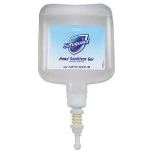 Safeguard Hand Sanitizer Gel, 4 - 1,200 ml Refills (PGC48842)