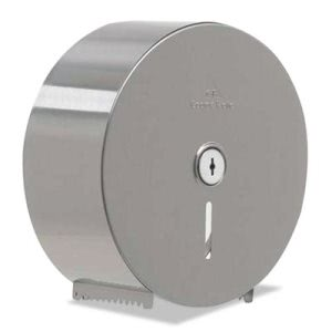 Georgia Pacific Stainless Steel Jumbo Roll Tissue Dispenser (GPC59448)