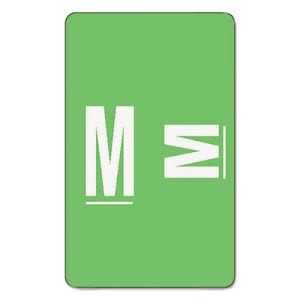 Smead A-Z Color-Coded Second Letter Labels, Letter M, 100 Labels (SMD67183)