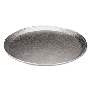 "18"" Round Serving Aluminum Serving Tray, 25 Trays (HFA4019120)"