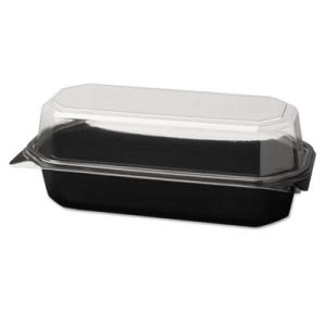 Solo Specialty Containers, Black/Clear, 20-oz., 200 Containers (SCC836011PS94)