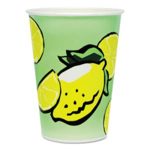 Solo Double Poly Paper 32-oz. Lemonade Cups, 480 Cups (SCC32TDN)
