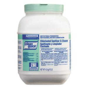 Clean Quick Powder Sanitizer and Cleaner, 3 - 10-lb. Containers (PGC02580)