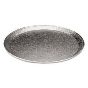 Round Serving Aluminum Tray, Flat Trays, 16in Size (HFA2013100)