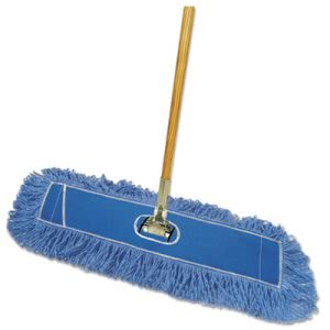 Boardwalk Looped-End Dust Mop Kit, 36 x 5 Mop Head, Handle, Frame (BWKHL365BSPC)