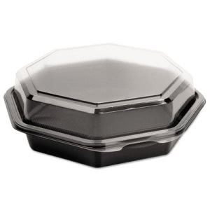 OctaView Cold Food Containers, 71/2-in. Medium, 100 Containers (SCC 865611-PS94)
