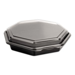 OctaView Cold Food Containers, 9-In. Shallow, 100 Containers (SCC864611PS94)