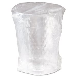 Solo Tumbler 10-oz Clear Plastic Cup, Individually Wrapped, 500 Cups (SCCWTC10X)