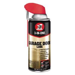 WD-40 3-IN-ONE Garage Door Lubricant, 11-oz Aerosol, 6 Cans (WDF100581)