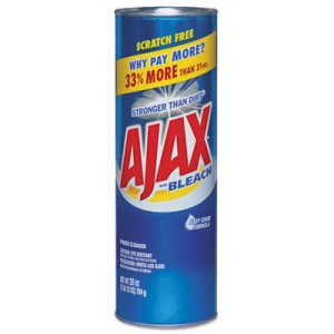 Ajax Powder Cleanser with Bleach, 28-oz Canister, 12 Cans (CPC05374)