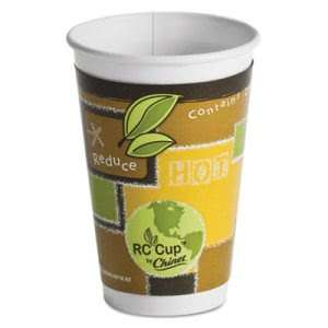 Chinet Insulated 16-oz Paper Hot Cups, Multi-color, 645 Cups (HUH63501)