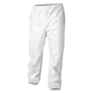 Kleenguard* A30 Splash and Particle Protection Stretch Coveralls, M, White, 50, 50/Carton (KCC36224)