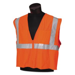 Jackson Safety ANSI Class 2 Safety Vest, Med/Large, Orange/Silver (KCC22834)
