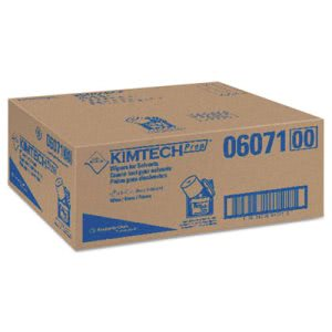 Kimtech* Wipers for Solvents, White, 60/Roll, 6/Carton (KCC06071)
