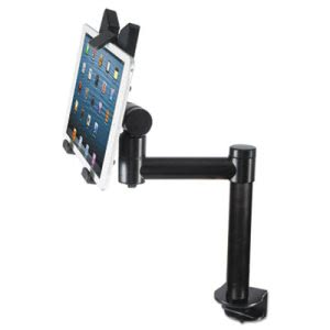 Kantek Tablet Desk Top Kiosk Stand, Aluminum, Black, 1 Each (KTKTS920)