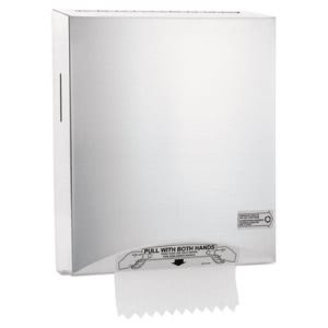 Kimberly-Clark Hands-Free Towel Dispenser, Stainless Steel (KCC09994)