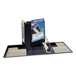 "Avery Nonstick EZD Reference View Binder, 5"" Capacity, Black (AVE79606)"