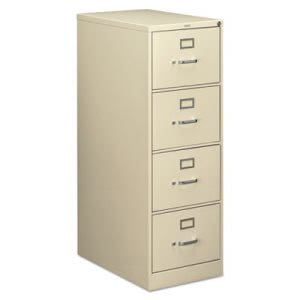 Hon 210 Series 4-Drawer, Full-Suspension File, Legal, 28-1/2d, Putty (HON214CPL)