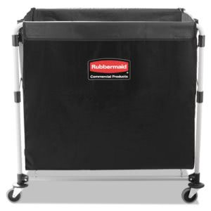 Rubbermaid 1881750 Collapsible Steel X-Cart, 8 Bushel (RCP1881750)