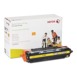 Xerox Compatible Remanufactured Toner, 6000 Page-Yield, Yellow (XER006R01294)